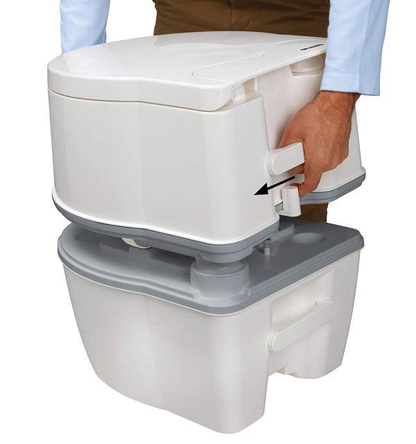 Porta Potti Curve Toalete Portátil para RV4