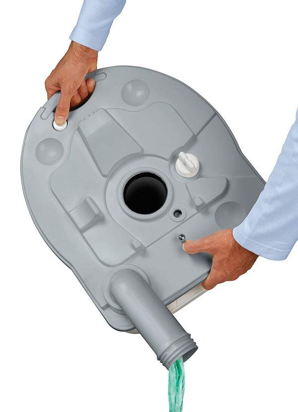 Porta Potti Curve Toalete Portátil para RV7