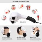 VIKTOR JURGEN Handheld Back Massager – Double Head Electric Full Body Massager -4