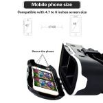 VR Headset with Remote Controller Stereo Headphones for3