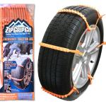 Zip Grip Go Cleated Tire Traction Device for Cars, Vans and Light Trucks