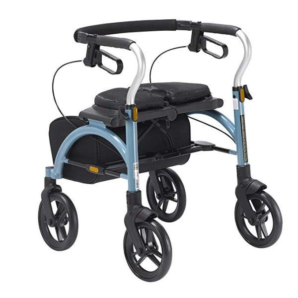 Drive Medical Arc Lite Rollator, Blue 3