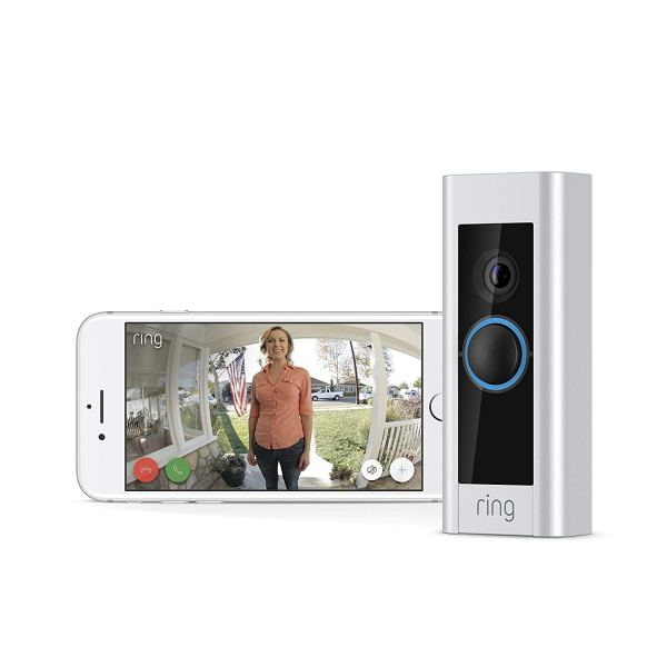 Ring Video Doorbell Pro, Works with Alexa (existing doorbell wiring required)4