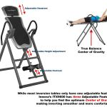 Innova ITX9600 Heavy Duty Inversion Table with Adjustable Headrest & Protective Cover3