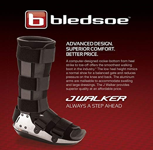 Bledsoe JWalker Fracture Cast Boot, Without Mid-Calf Regular Medium 3