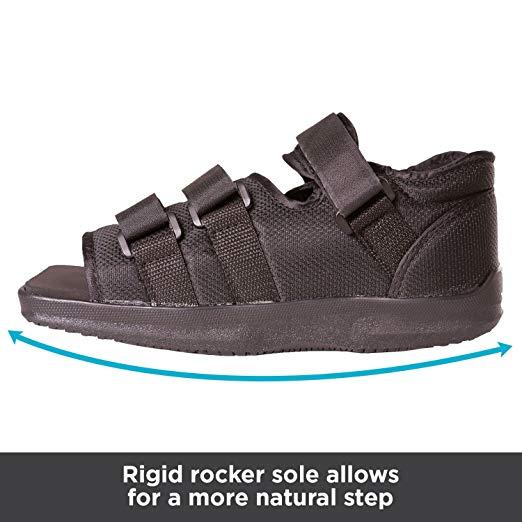 BraceAbility Post-op Shoe for Broken Foot or Toes3