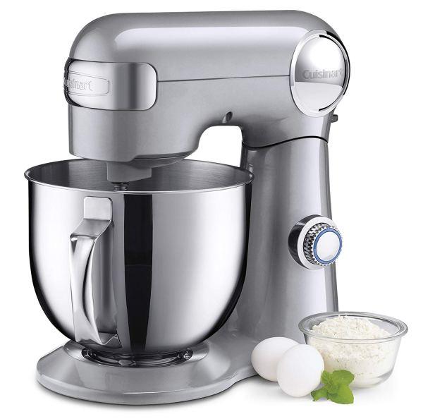 Cuisinart SM-50 5.5 – Quart Stand Mixer, Branco