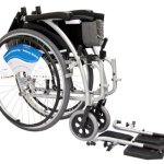 Karman Healthcare S-115 Ergonomic Ultra Lightweight Manual Wheelchair, Rose Red, 18 Inches Seat Width6