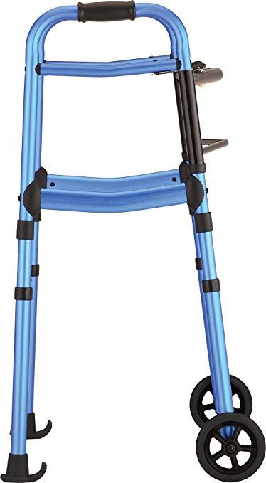NOVA Medical Products Walker Glide Skis, Black, 2 Pound 3