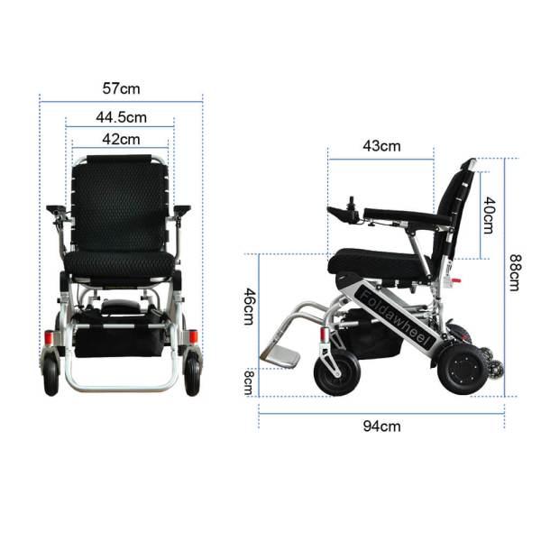 PW-999UL (Lightest Power Folding Wheelchair)10