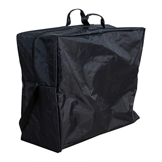 Saco de viagem Hi-fortune para cadeira de rodas automotora HM303D & Transporte HM03MS de cadeira de rodas, preto