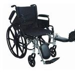 Stylish Ultralight Extra Wide Adult Wheelchair – 20 x 16