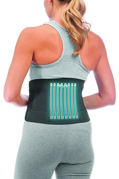 Suporte para coluna lombar para mulher (cinta) mueller sport3