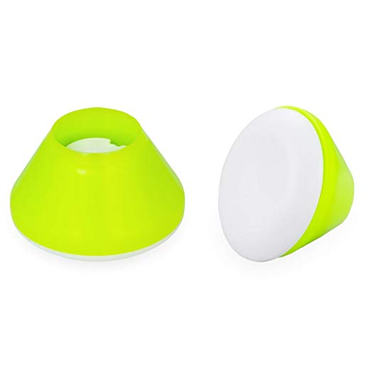 Walker Coasters, Tennis Ball Yellow, 2 Count 2