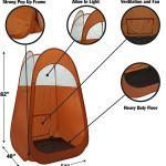 Tenda para bronzeamento a jato dobra facilmente em 30 segundos com bolsa de transporte4
