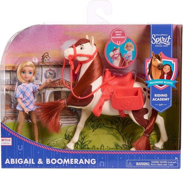 Boneca E Cavalo Easy Spirit Dreamworks- Abigail & Boomerang