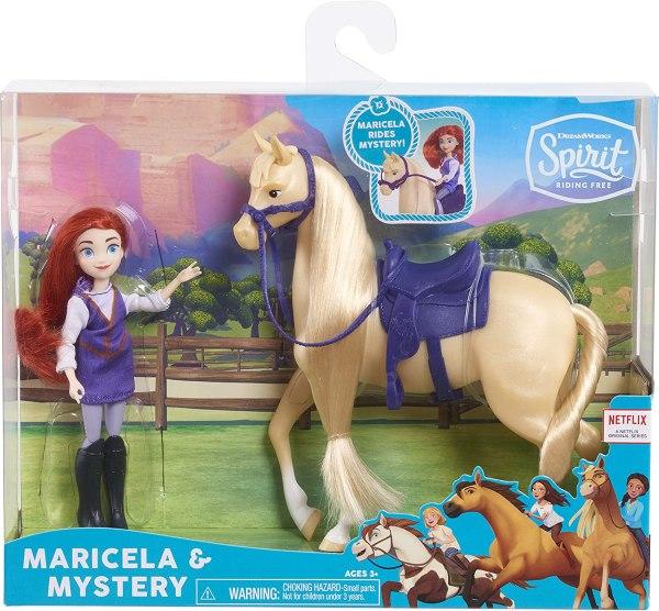 Boneca E Cavalo Easy Spirit Dreamworks- Maricela & Mystery 3