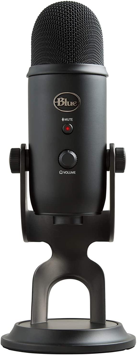 Microfone Blue Yeti Usb Blackout Condensador Profissional – Copia