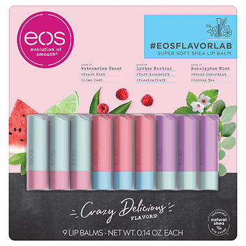 Bálsamo labial eos Flavor Lab – 9 palitos