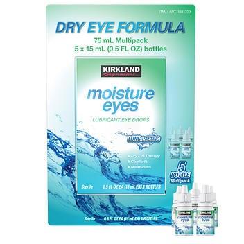Kirkland Signature Colírio úmido para olhos secos -75 ml