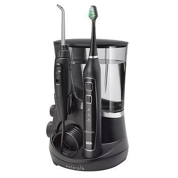 Waterpik Water Flosser Escova de dentes Triple Sonic – Black