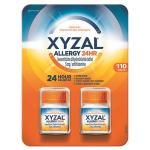 Xyzal Allergy Antihistamine 24 horas 5 mg., 110 comprimidos