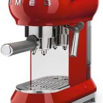 Cafeteira Smeg 50's Retro Style ECF01 automática red expresso 110V