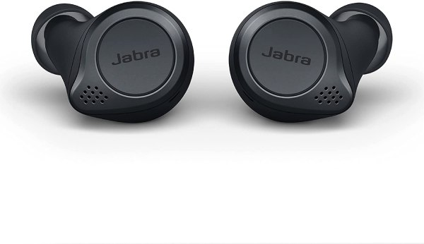 Fone de ouvido in-ear sem fio Jabra Elite 75t titanium black
