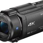 Sony Fdr Ax53 4k Ultra Hd Filmadora Handycam