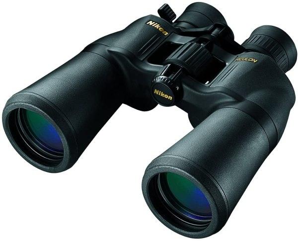 Binóculo com zoom Nikon 8252 Aculon A211 10-22×50