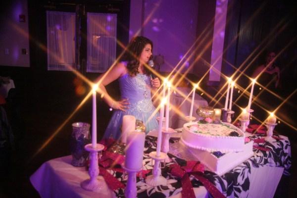 Sweet Sixteen Candle Lighting Ceremony