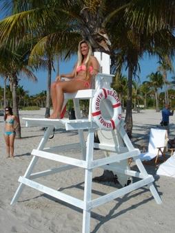 LIFEGUARD STANDTOWER  Miami Prop Rental