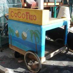 Used Kitchen Equipment Miami Renovation Ideas Coconut Cart / Ice Cream — Prop Rental