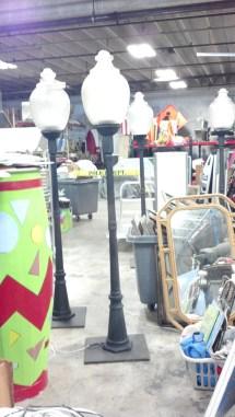 Acorn Lamp Post 2 Miami Prop Rental