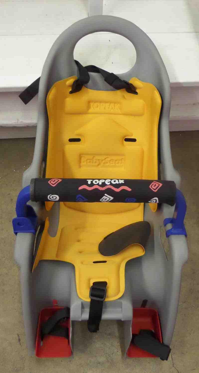 gray kitchen chairs distressed black cabinets topeak baby bike seat — miami prop rental