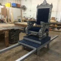 Sedan Chair Rental Walmart Table Chairs King Throne Miami Prop Item 17434
