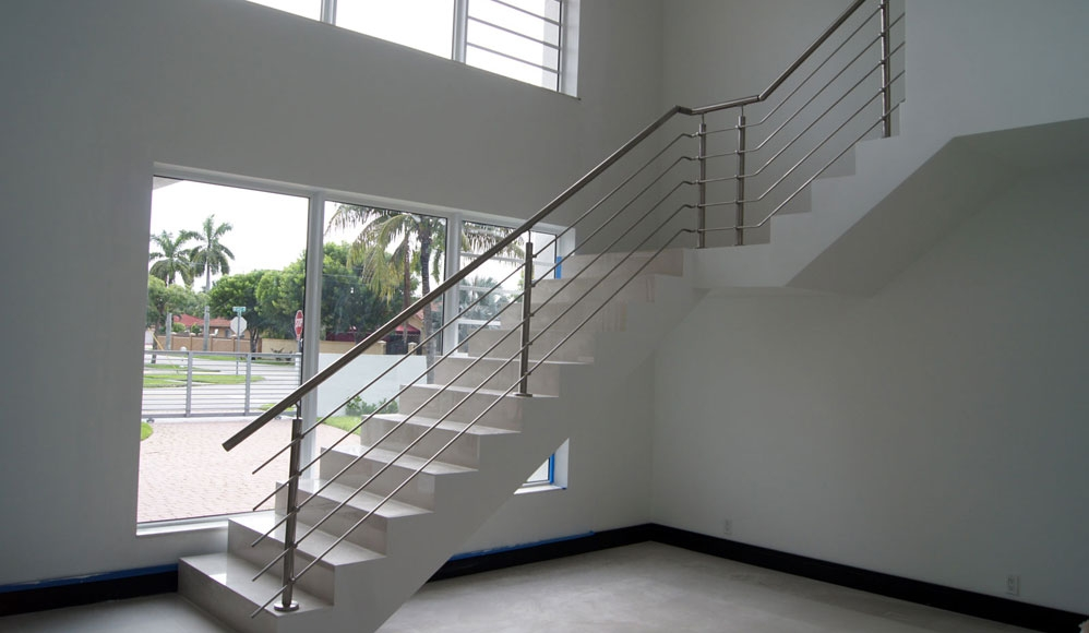 Stairs Glass Railings Stainless Railings Wood Railings   Stair Railing Wood And Steel   Stair Inside   Baluster   Tall Stair   Indoor Stair   Solid Wood