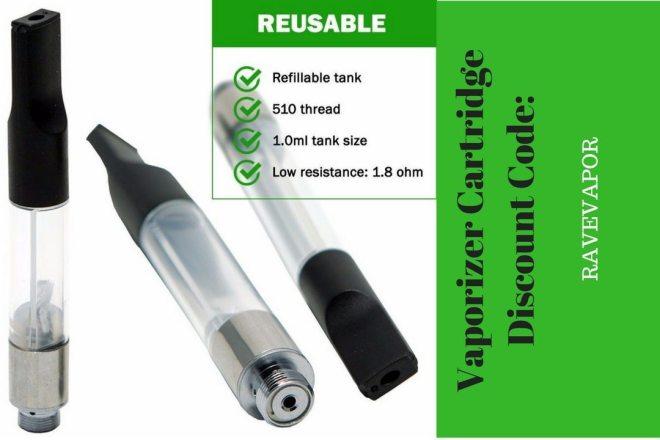 Vaporizer Cartridge THC Oil Discount Code