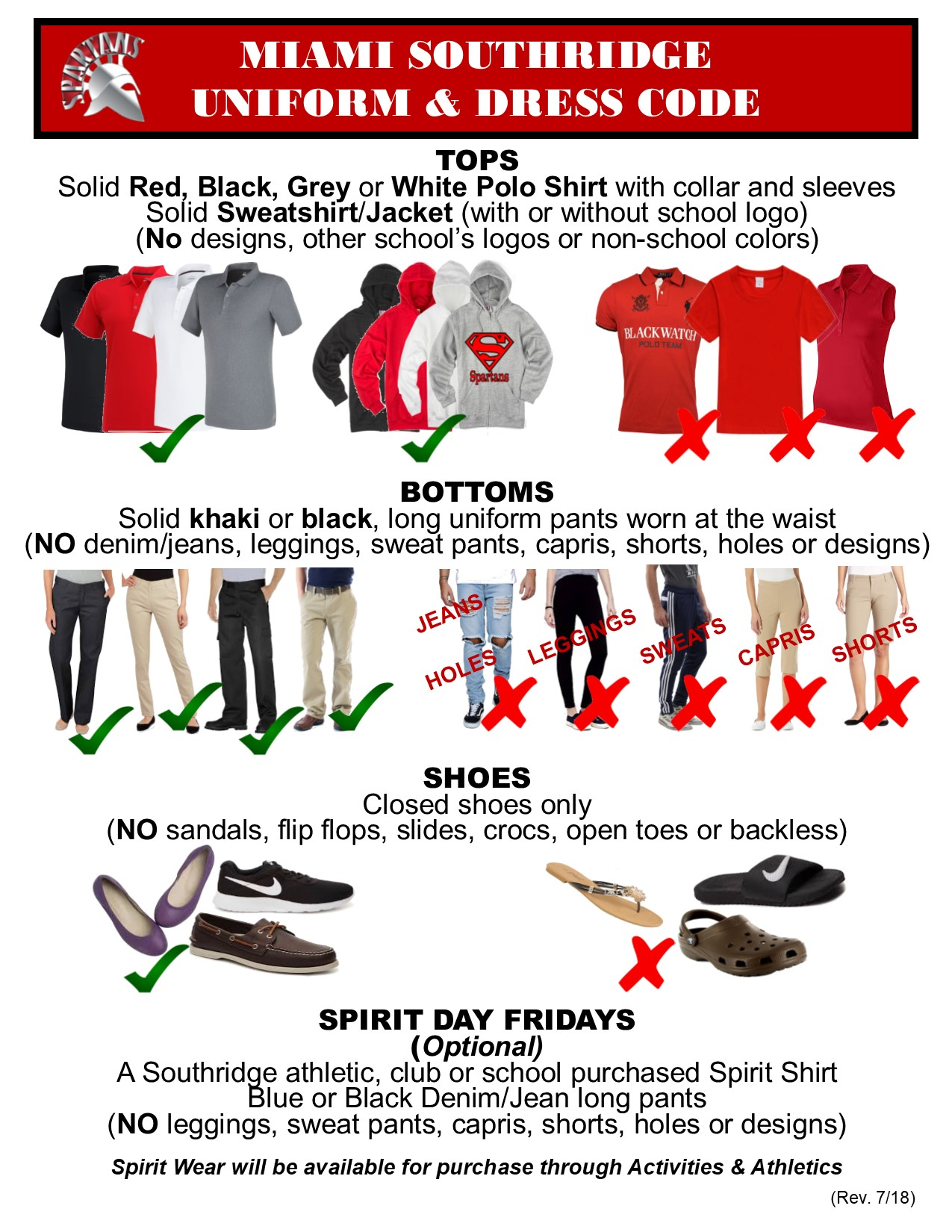 0391f95a23da47 Uniform Flyer Southridge – Miami Southridge Senior High