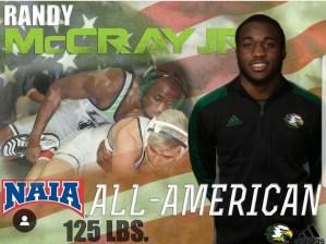 Spartan Athletics Randy McCray Jr.
