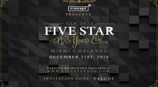 Five Star NYE New Years Eve Celebration