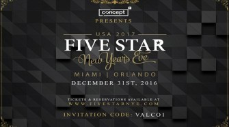 Five Star NYE New Years Eve Celebration