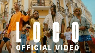 Justin Quiles x Chimbala x Zion & Lennox - Loco (Official Music Video)