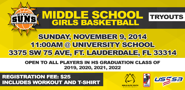 MIDDLE SCHOOL TRYOUTS maintable