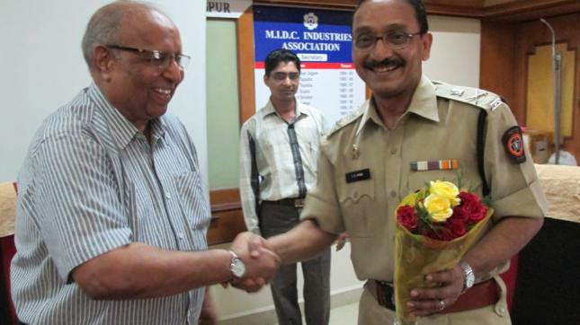 Nagpur Police Commissioner Visits MIA