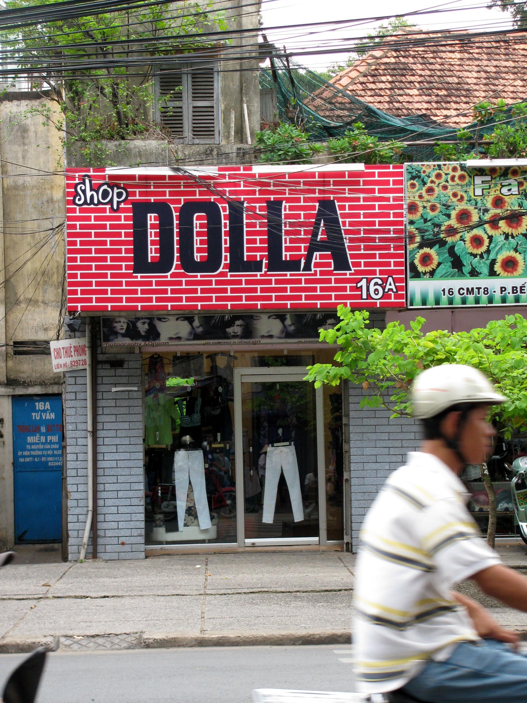 Shop Dolla, Saigon, Vietnam