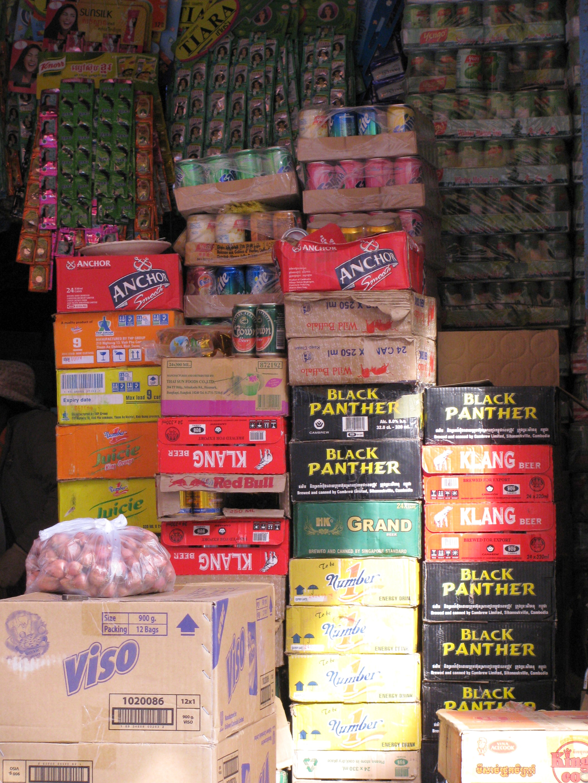 Shop, Kratie, Cambodia