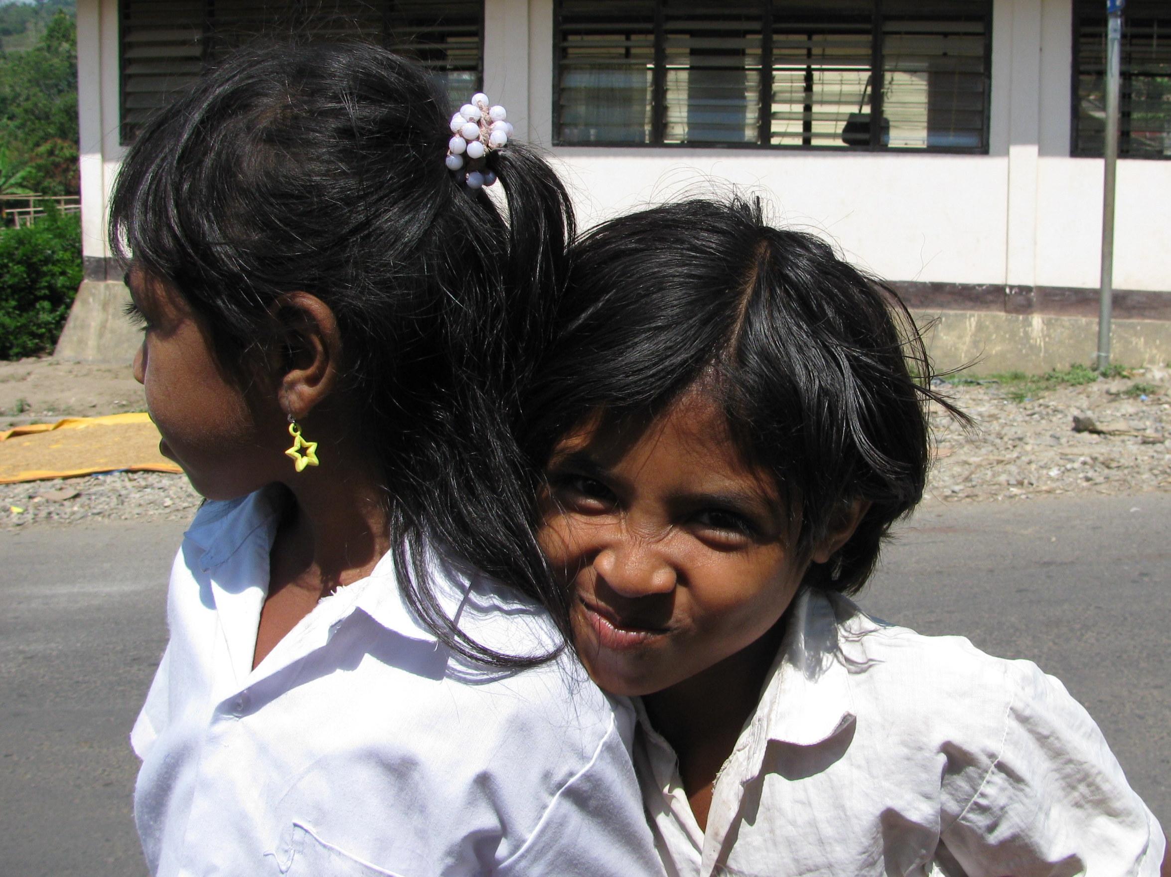 School children, Moni, Flores, Indonesia