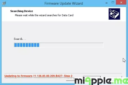 Huawei E173 U-1 - Updating to firmware 11.126.85.00.209.B427: Step 2