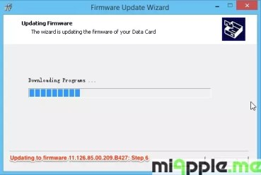 Huawei E173 U-1 - Updating to firmware 11.126.85.00.209.B427: Step 6
